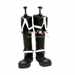 D Gray-Man Cosplay Shoes Allen Walker Black Boots