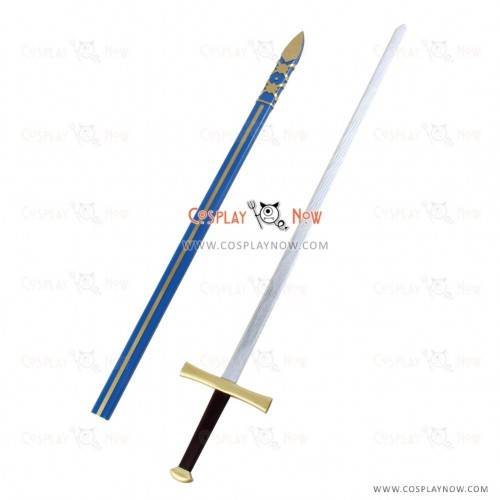 Fate grand order Cosplay Bedivere props with sword