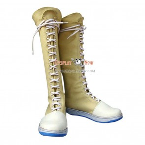 Final Fantasy Cosplay Shoes Yuffie Kisaragi Boots