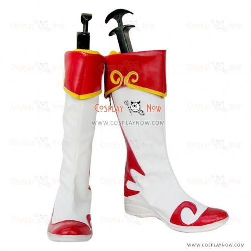 Dynasty Warriors Cosplay Shoes Da Qiao Boots