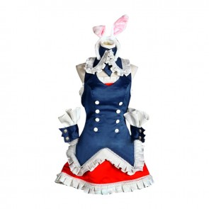 Mondaiji Problem Children Are Coming From Another World Cosplay Black Rabbit Kuro Usagi Costume