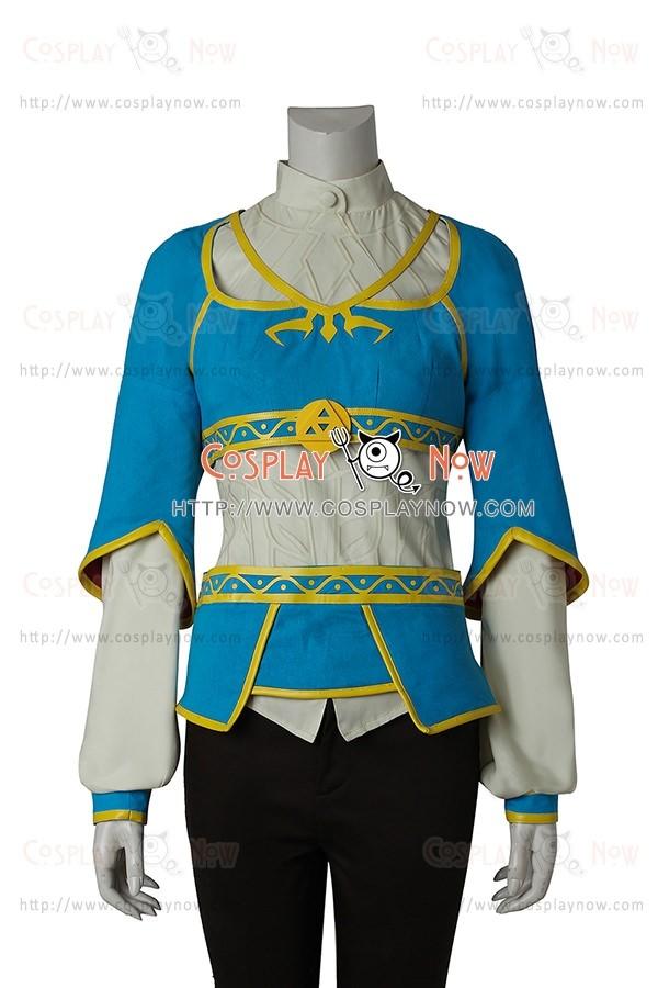 The Legend Of Zelda Breath Of The Wild Cosplay Princess Zelda Costume