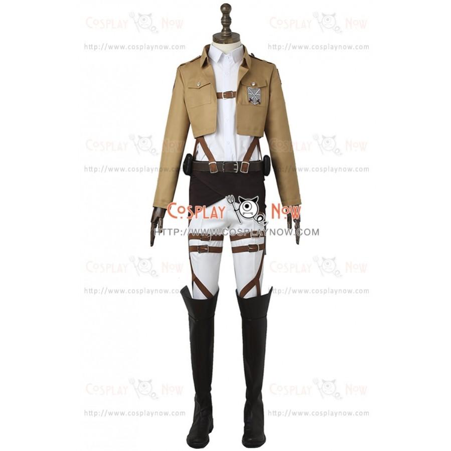 Attack On Titan Cosplay Training Legion Costume