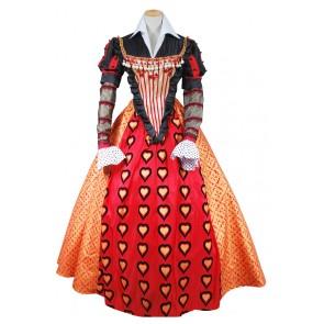 Alice In Wonderland Cosplay Queen Of Hearts Costume