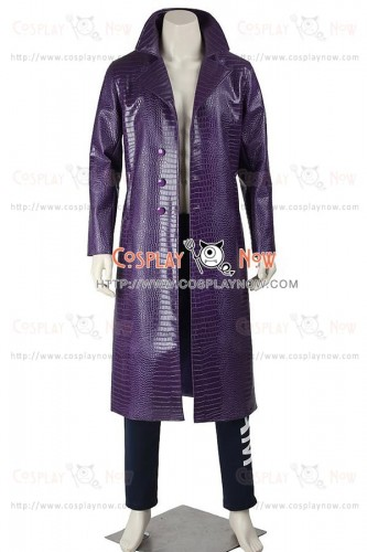 Batman The Joker Costume For Suicide Squad Cosplay