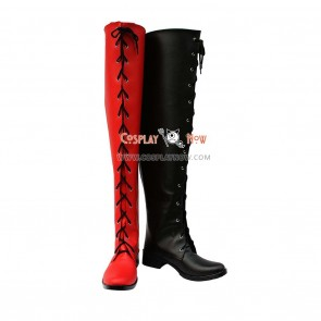 Amnesia Cosplay Shoes SHIN Two-toned Boots