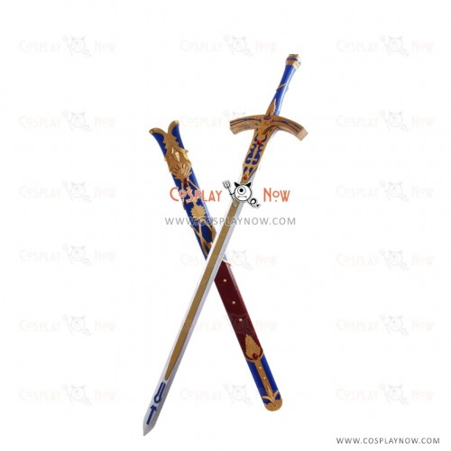 Unlimited Codes Saber Lily Caliburn Sword Fate Stay Night Cosplay Props