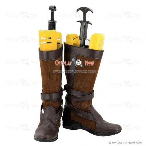 Star Wars Cosplay Shoes Leia Organa Boots