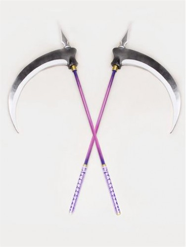 Devil Kings Tenkai Double Scythes PVC Cosplay PropS