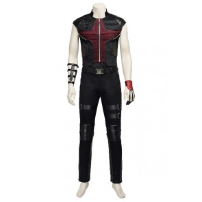 Hawkeye Clint Barton Costume For The Avengers Age of Ultron Cosplay