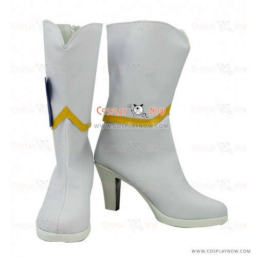 Happiness Charge Pretty Cure Cosplay Shoes Hime Shirayuki Boots