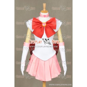 Sailor Moon Sailor Mini Moon Chibiusa Rini Cosplay Costume