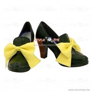 Black Butler II King Edward V Black Cosplay Shoes