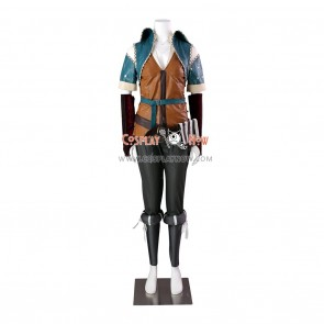The Witcher Cosplay Triss Merigold Costumes for Girls