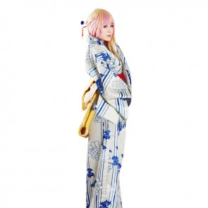 Macross Frontier Cosplay Sheryl Nome Costume Kimono