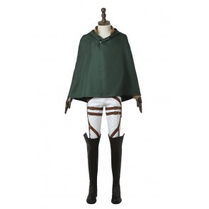 Attack On Titan Shingeki No Kyojin Cosplay Eren Yeager Costume