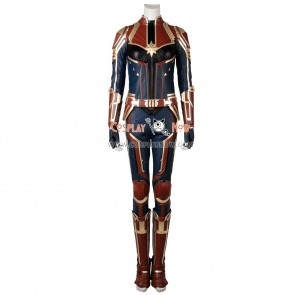 Captain Marvel Cosplay Costume Carol Danvers Costume