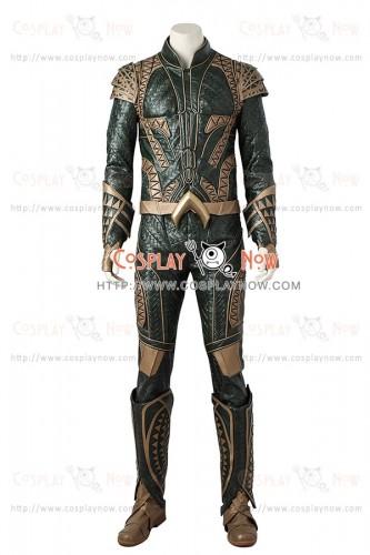 Justice League Cosplay Aquaman Arthur Curry Costume