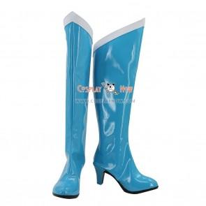 Sailor Moon Cosplay Shoes Mizuno Ami Sailor Mercury Boots
